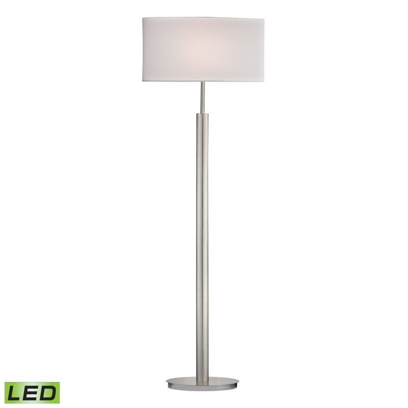 Dimond Lighting D2550-LED 1 Light LED Floor Lamp from the Port Elizabeth Collect
