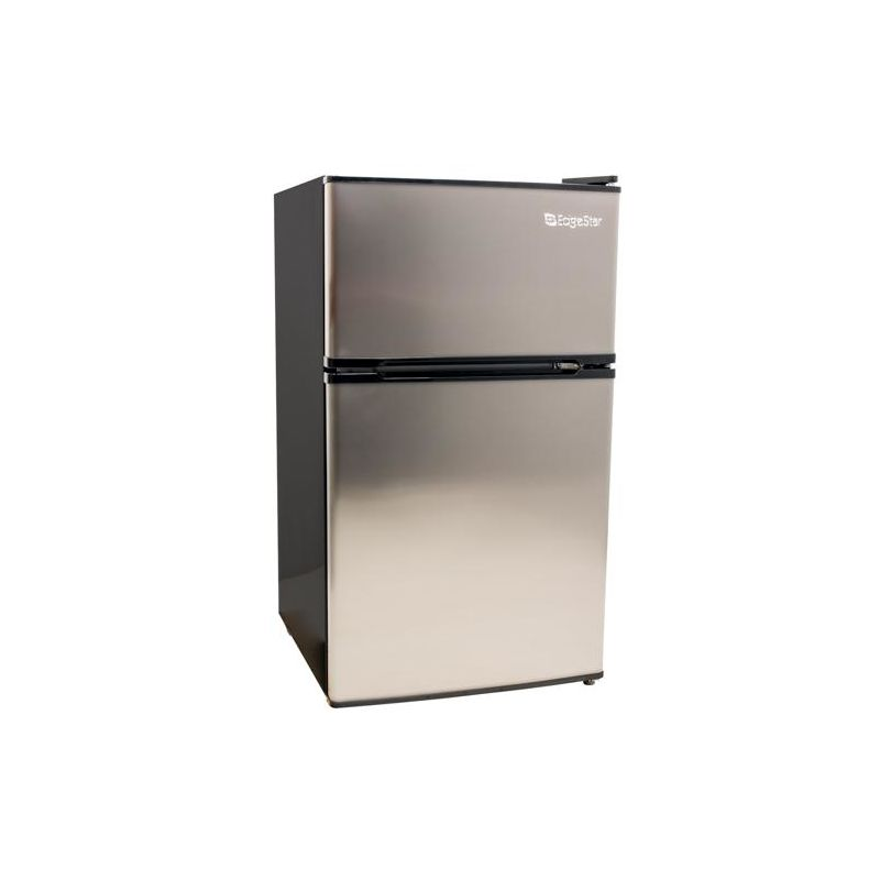 EdgeStar CRF321 19 Inch Wide 3.1 Cu. Ft. Energy Star Rated Fridge/Freezer with I photo