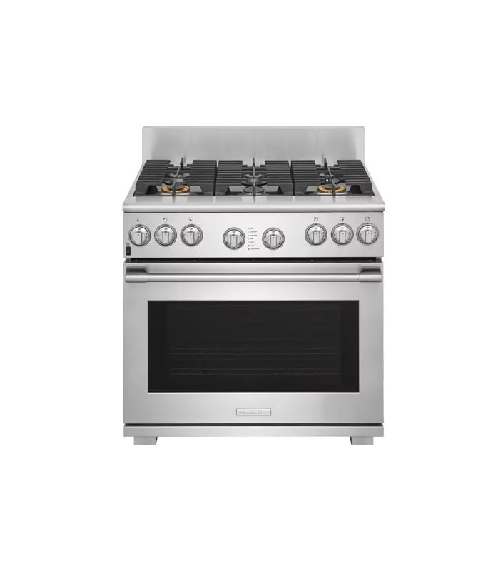 Electrolux E36DF76TP 36 Inch Wide 6.4 Cu. Ft. Dual-Fuel Freestanding Range with photo