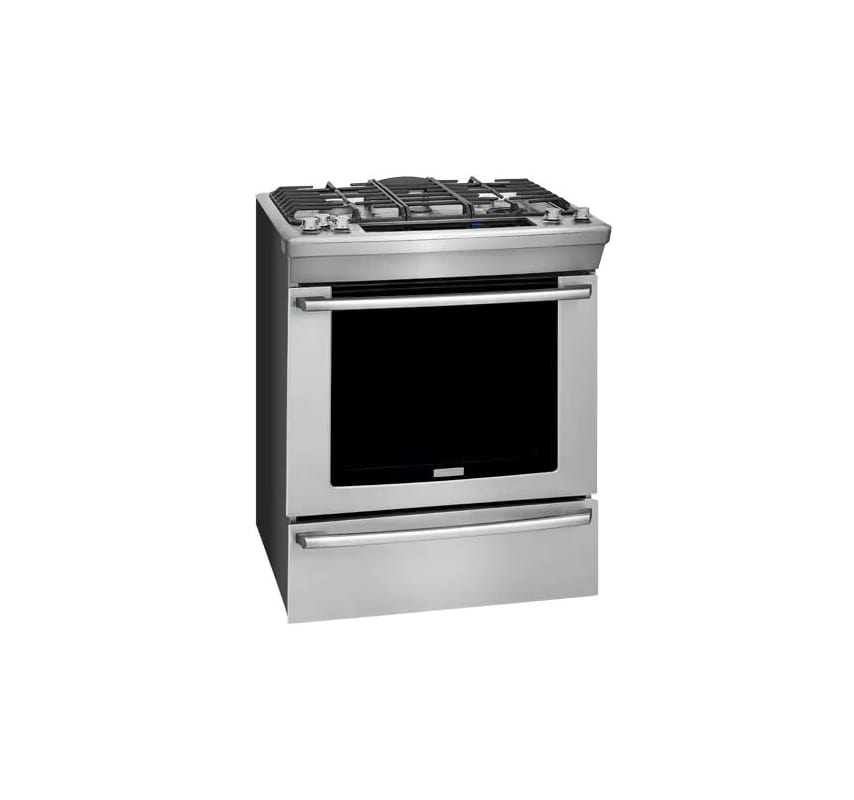Electrolux EW30DS80R 30 Inch Wide 6 Cu. Ft. Free Standing Dual Fuel Range with P photo
