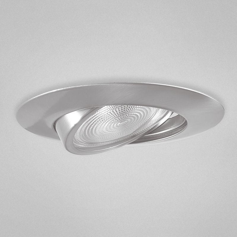 lighting 19172 contemporary modern 6 inch gimbal trim recessed light. Black Bedroom Furniture Sets. Home Design Ideas