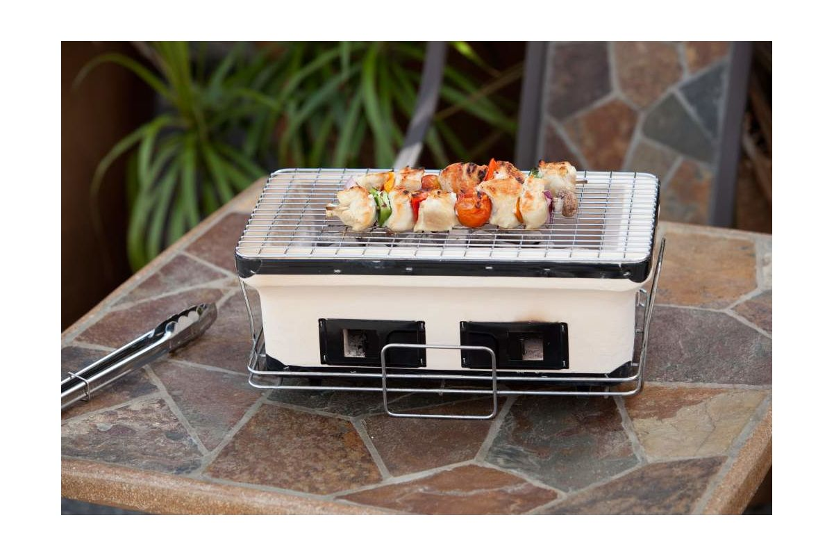Fire Sense 60450 HotSpot Rectangle Yakatori Charcoal Grill photo