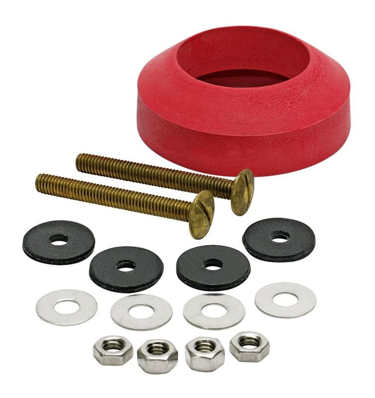 Fluidmaster 6102 Tank to Bowl Bolts Set of 2 with Washers, Nuts and Gasket Kit photo