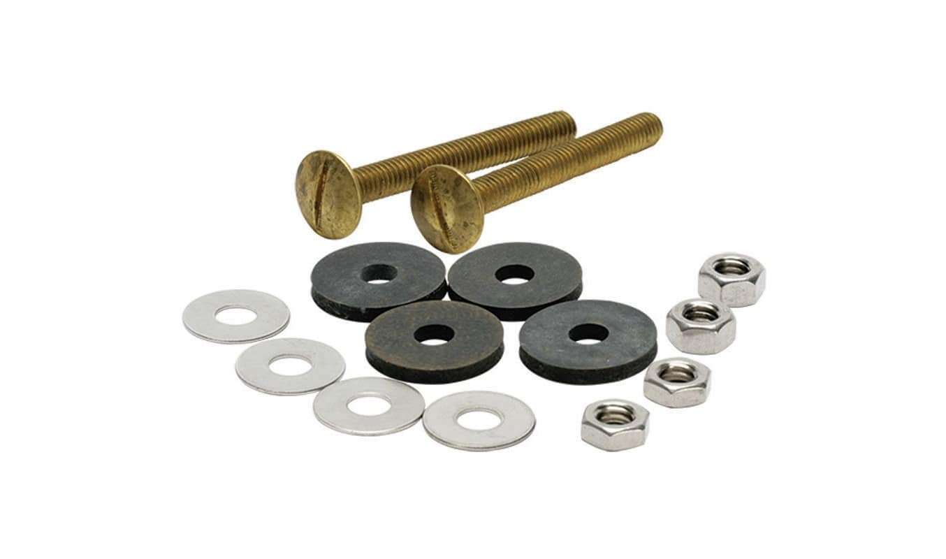 Fluidmaster 6101 Tank to Bowl Bolts Set of 2 with Washers and Nuts photo