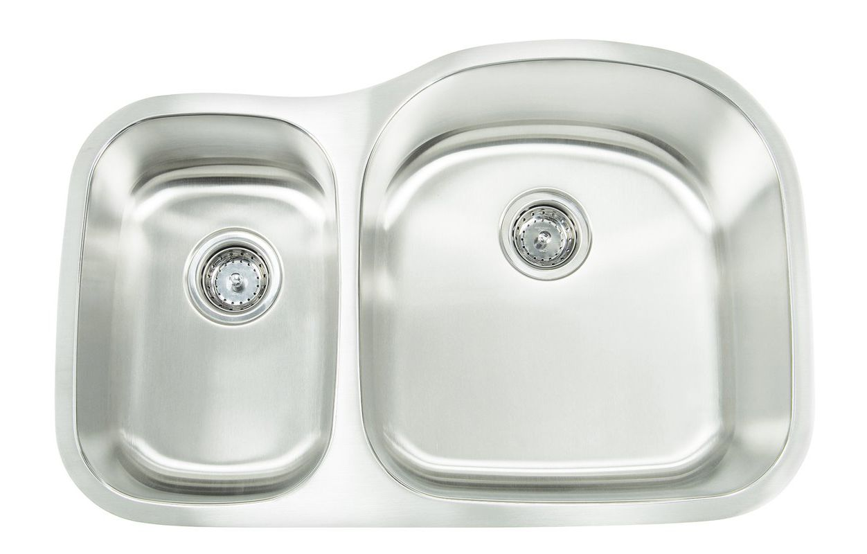 Frigidaire FPUR3219-D10 30-Inch by 17-Inch by 10-Inch Undermount 16-Gauge Stainless Steel Sink