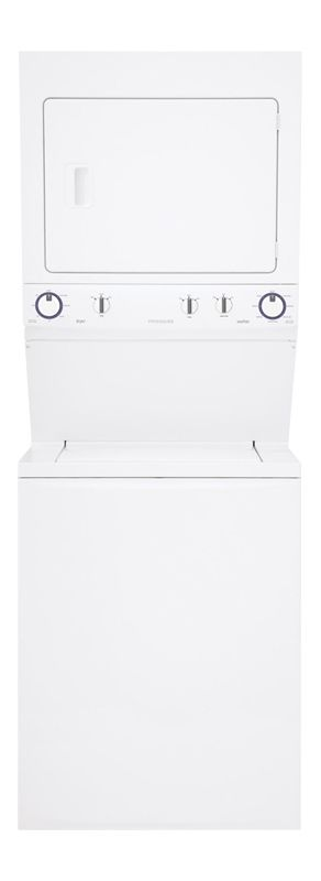 Frigidaire FFLE3911QW Electric Laundry Center with Immersion Care Wash Action photo