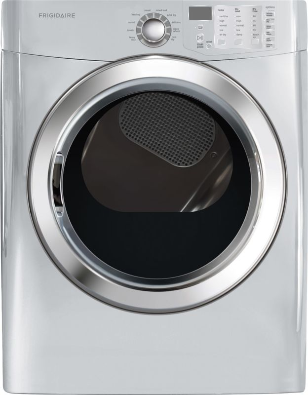 Frigidaire FFSE5115P 7.0 Front Load Dryer with Ready Steam™ photo