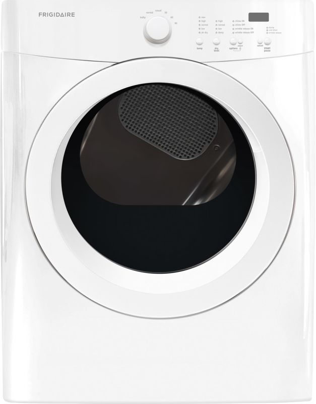 Frigidaire FFQE5000Q 27 Inch Wide 7.0 Cu. Ft. Electric Dryer with Precision Dry photo