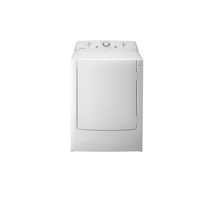 Frigidaire FFRE1001PW 7.0 Cu. Ft. Electric Dryer with One-Touch™ Wrinkle Release photo