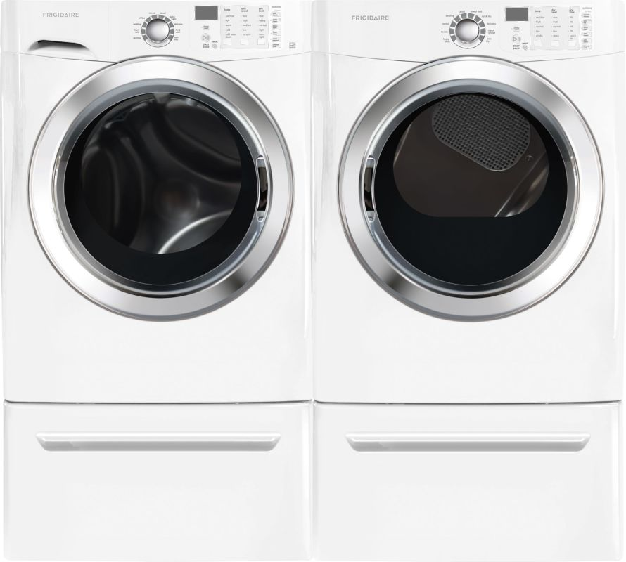 Frigidaire FFSG5115P-FFFS5115P Front Load Washer and Dryer Pair - 3.9 Cu. Ft. Wa photo