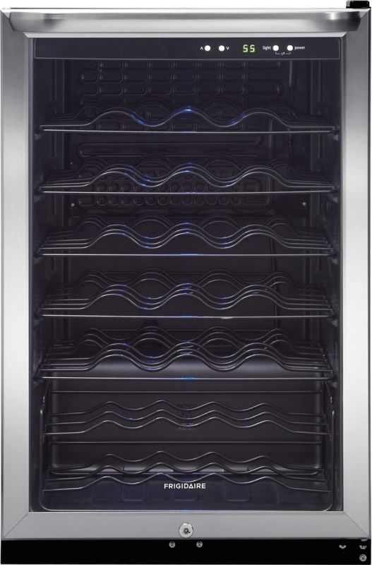 Frigidaire FFWC4222Q 22 Inch Wide 42 Bottle Wine Cooler with Precision Electroni photo