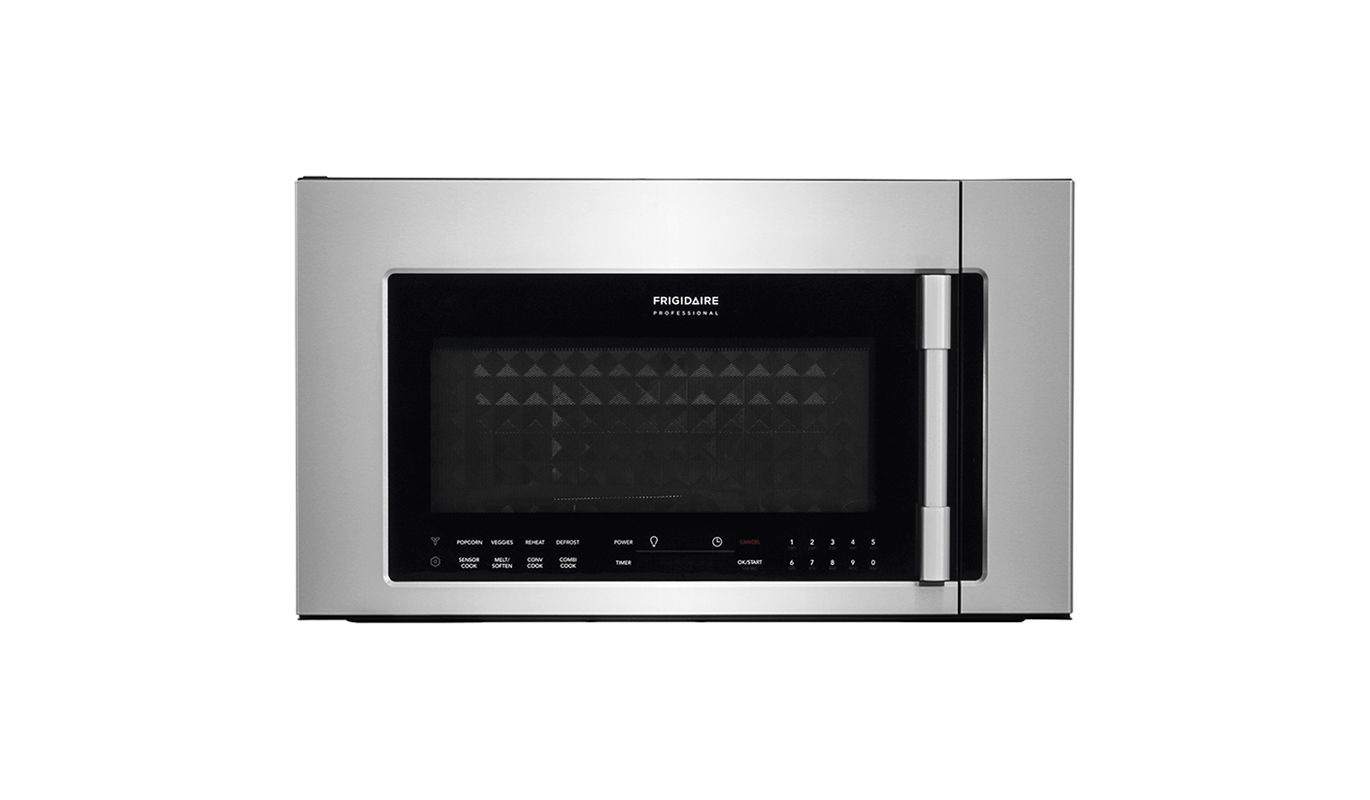 Frigidaire FPBM3077R 30 Inch Wide 1.8 Cu. Ft. Over-The-Range Microwave with Conv photo
