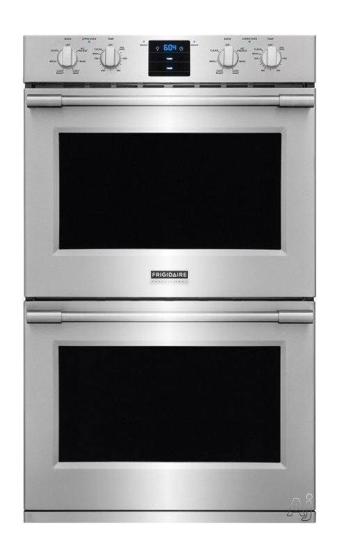 Frigidaire FPET3077R 30 Inch Wide 5.1 Cu. Ft. Double Electric Wall Oven with Pow photo