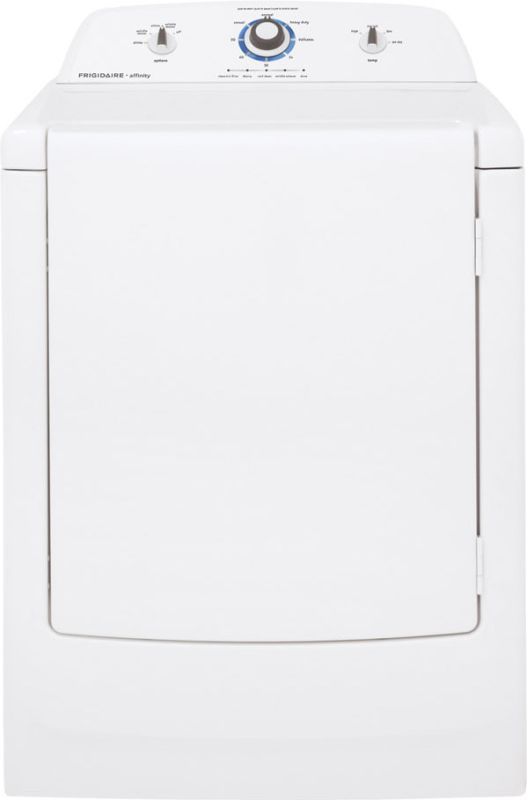 Frigidaire FARE1011M Affinity High Efficiency Electric Dryer with One-Touch Wrin photo