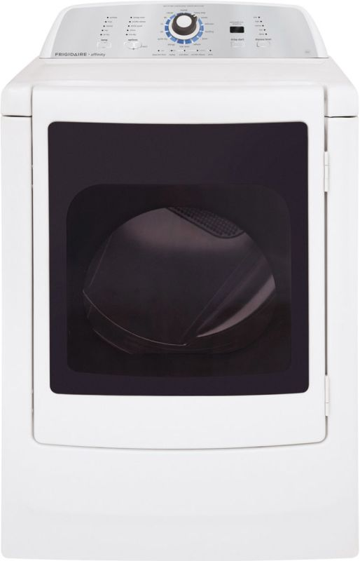 Frigidaire FARG4044M Affinity High Efficiency Gas Dryer with Glass Door and One- photo