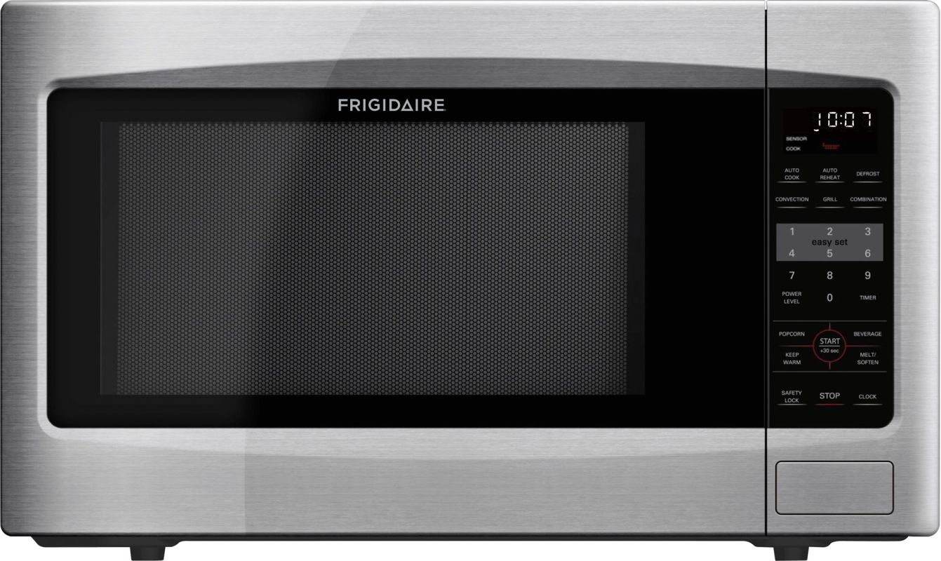 Frigidaire FFCT1278L 1.2 Cubic Foot Countertop Microwave Oven with Easy-Set Star photo
