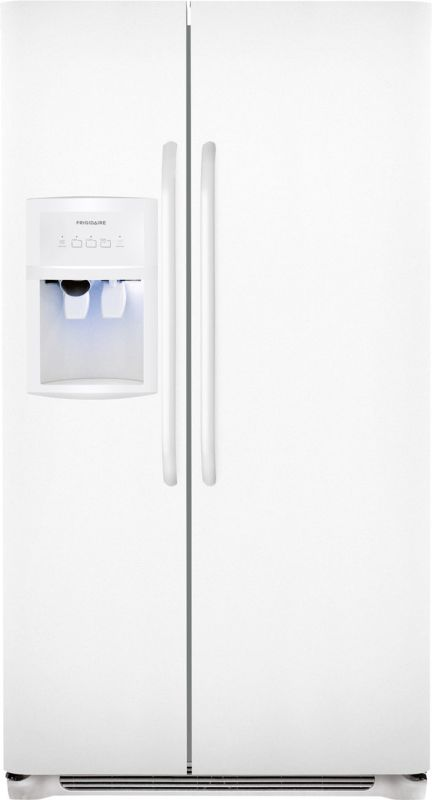 Frigidaire FFHS2622M Energy Star 26 Cubic Foot Side-By-Side Refrigerator with St photo