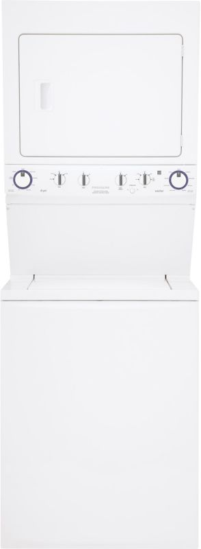 Frigidaire FFLE4033QW Electric Washer/Dryer Laundry Center Featuring Ready-Selec photo