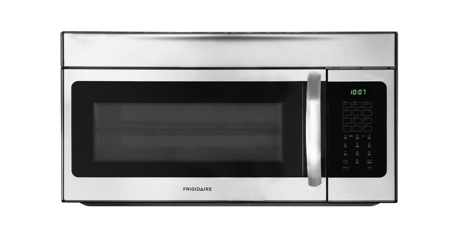 Frigidaire FFMV154CL 1.5 Cubic Foot Over-The-Range Microwave Oven with Bake & Br photo