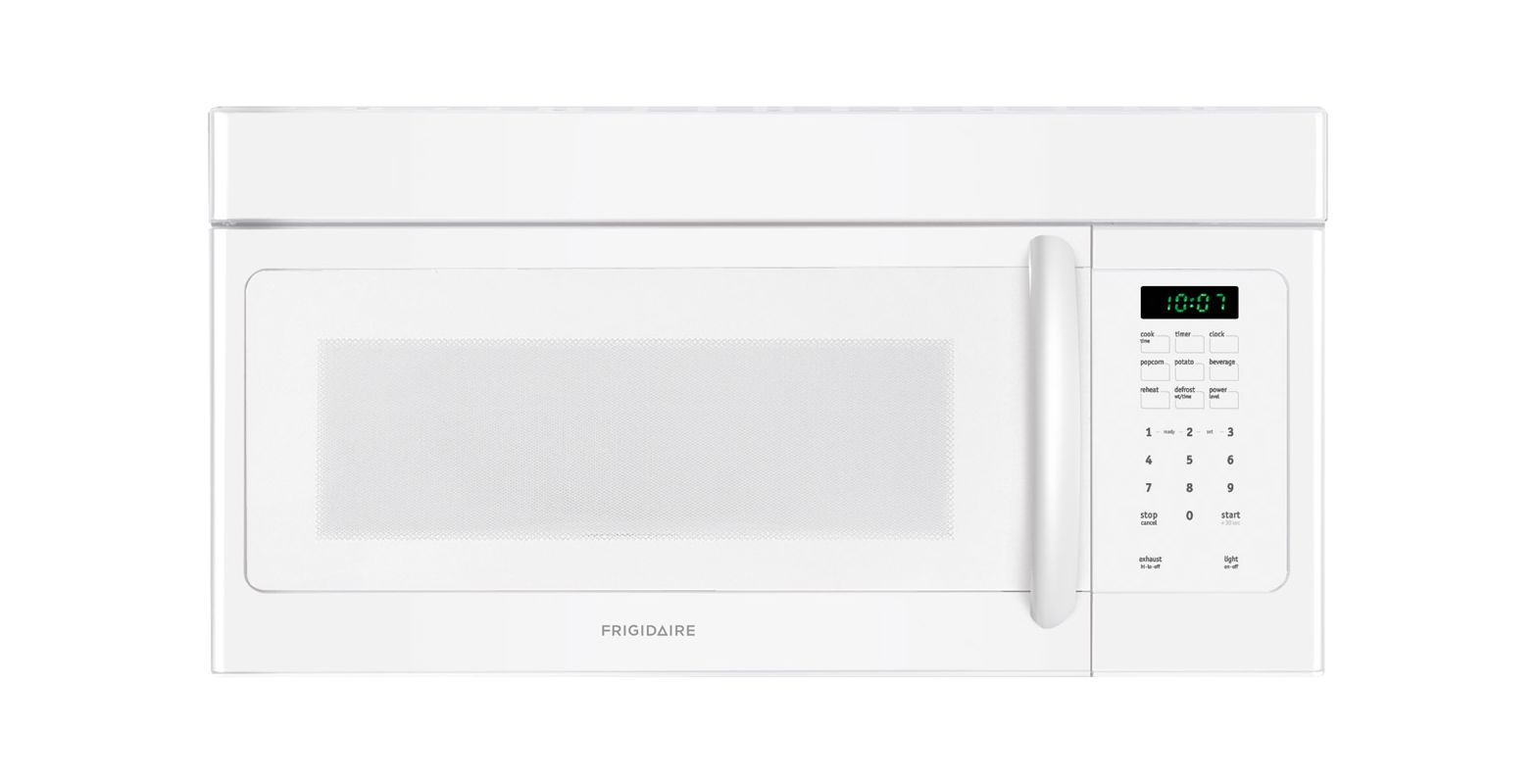 Frigidaire FFMV162L 1.6 Cubic Foot Over-The-Range Microwave with Fits-More Capac photo