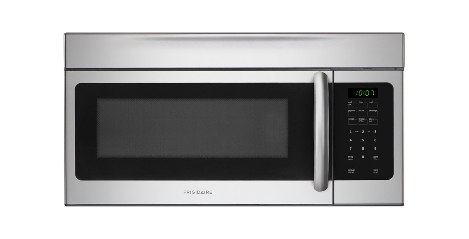 Frigidaire FFMV164L 1.6 Cubic Foot Over-The-Range Microwave with Fits-More Capac photo