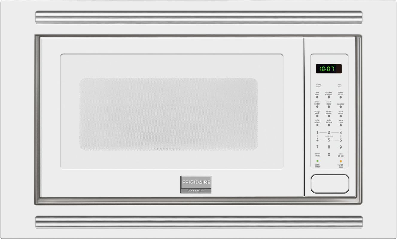 Frigidaire FGMO205K 2 Cubic Foot Built-In Microwave with 1,200 Watts, Effortless photo