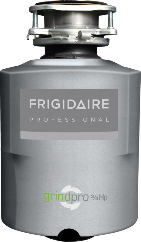 Frigidaire FPDI758DMS Professional 3/4 HP Batch Feed Waste Disposer with Stainle photo