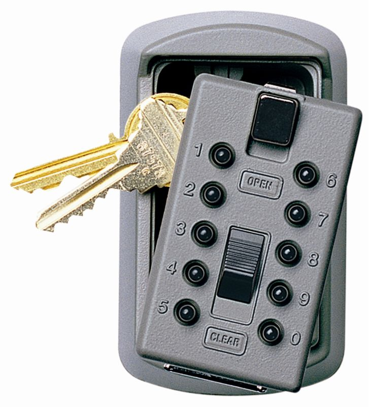 GE Security 001170 KeySafe Original (Slimline) for 2 Keys with Easy Pushbutton O photo