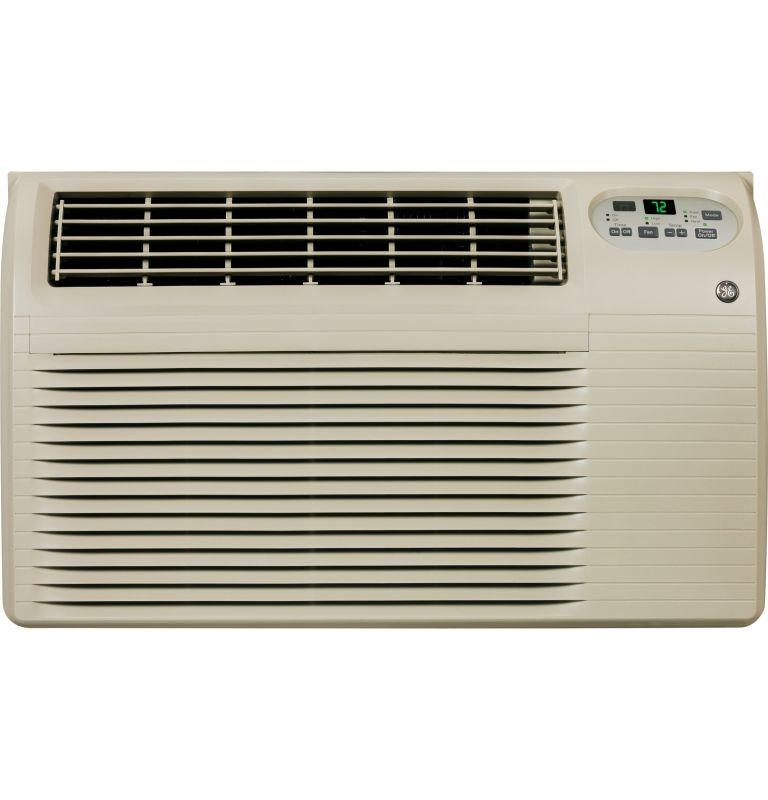GE AJEQ08ACF 8200 BTU 115V Through The Wall Air Conditioner with 3900 BTU Heater photo