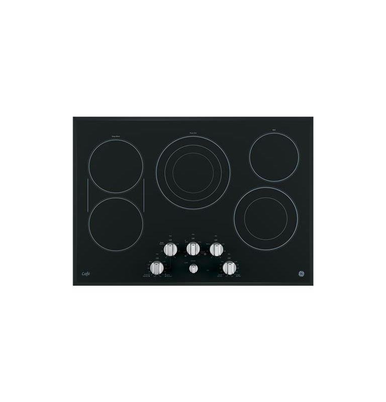 GE CP9530 30 Inch Wide Built-In Electric Cooktop with SyncBurner Control photo