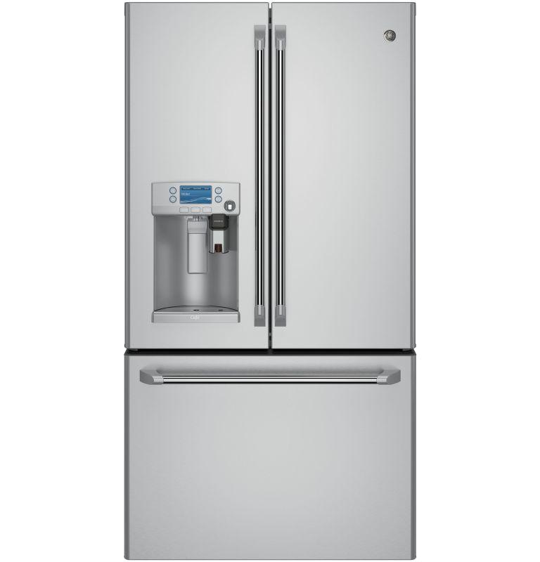 GE CYE22U 36 Inch Wide 22.2 Cu. Ft. Energy Star Rated French Door Refrigerator w photo