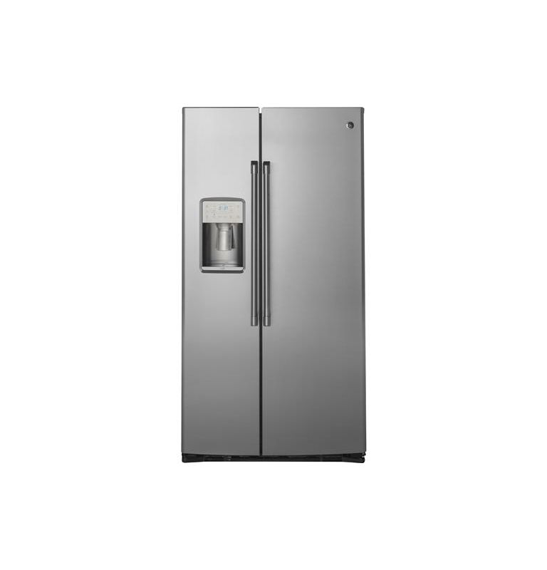 GE CZS22M 36 Inch Wide 22.1 Cu. Ft. Counter Depth Side By Side Refrigerator with photo