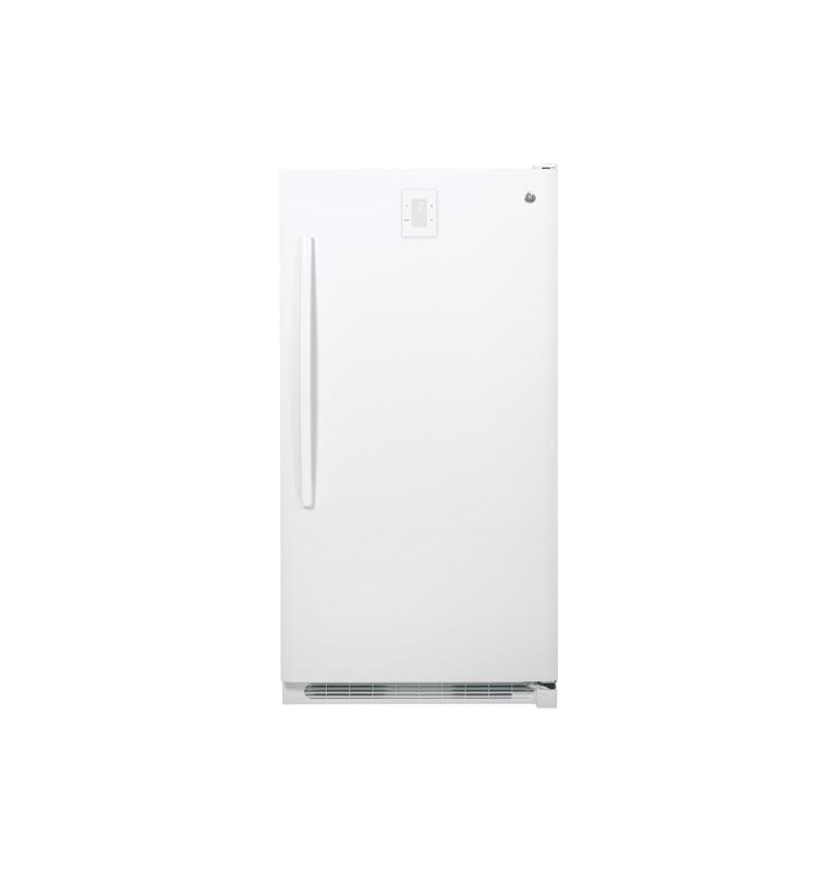 GE FUF17DHR 34 Inch 16.6 Cu. Ft. Frost Free Freezer with Audible Temperature Ala photo