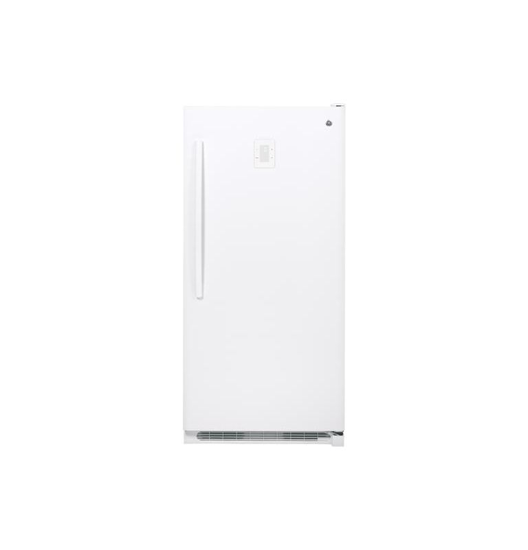 GE FUF20DHR 34 Inch 20.2 Cu. Ft. Frost Free Upright Freezer with Audible Tempera photo