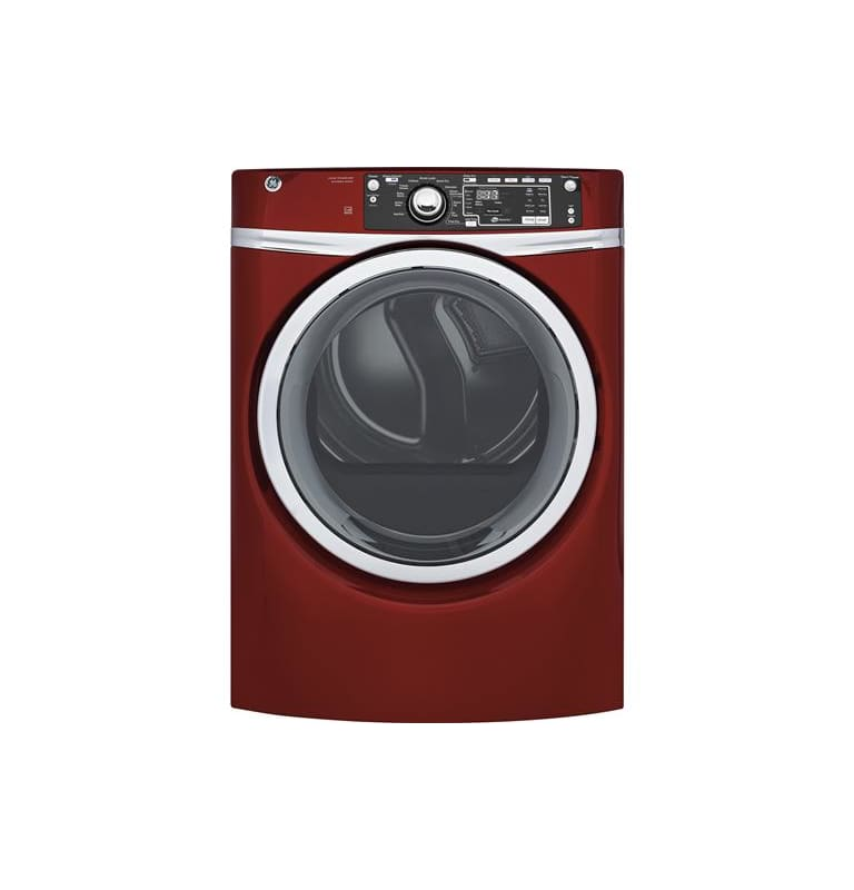 GE GFD48GSK 28 Inch Wide 8.3 Cu. Ft. Energy Star® Rated Gas Dryer with HE Sensor photo