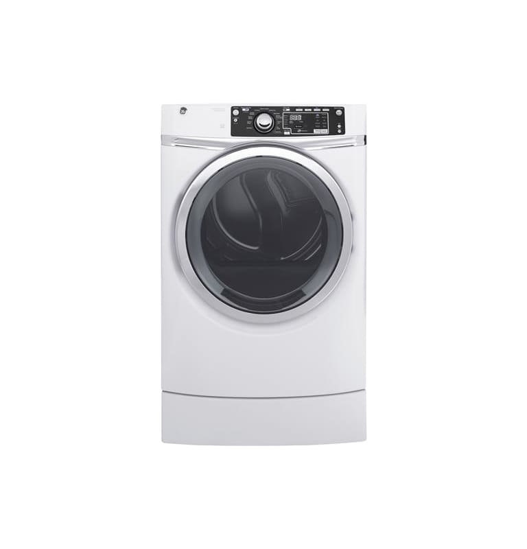 GE GFD49ERK 28 Inch Wide 8.3 Cu. Ft. Energy Star® Rated Electric Dryer with HE S photo