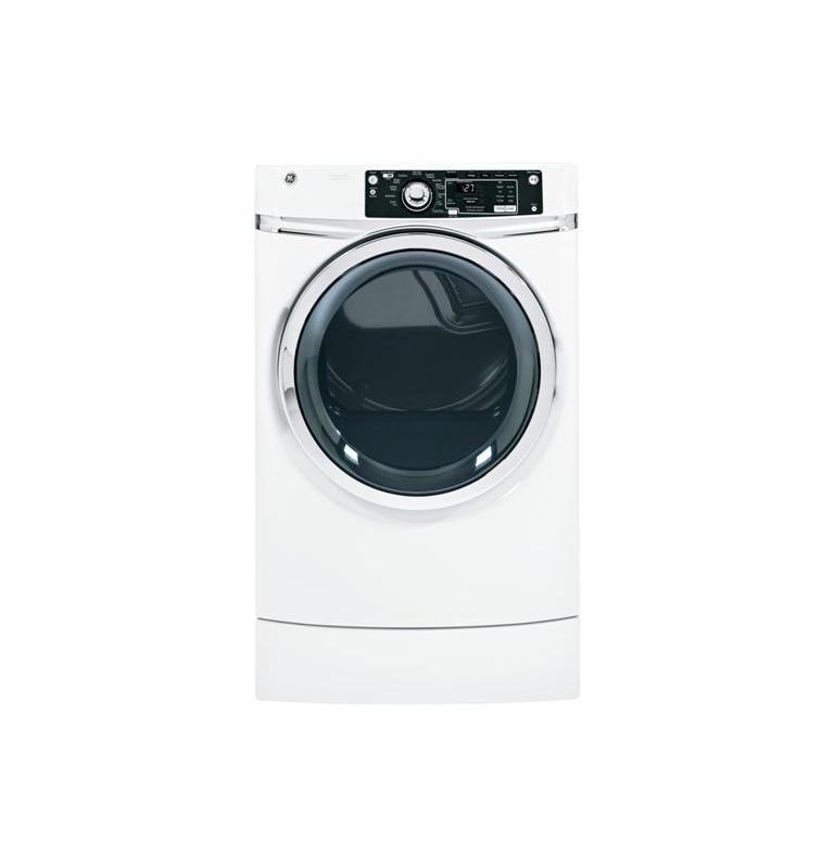 GE GFDR270EH 28 Inch 8.1 Cu. Ft. Electric Dryer with Steam Refresh photo