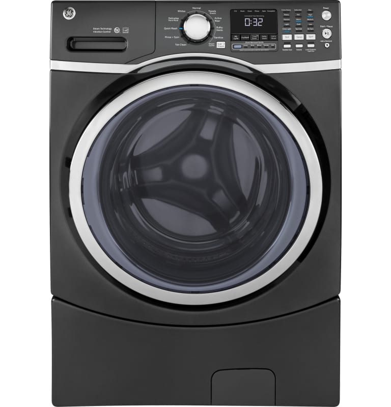 GE GFW450SK 27 Inch Wide 4.5 Cu. Ft. Energy Star® Rated Front Loading Washer wit photo