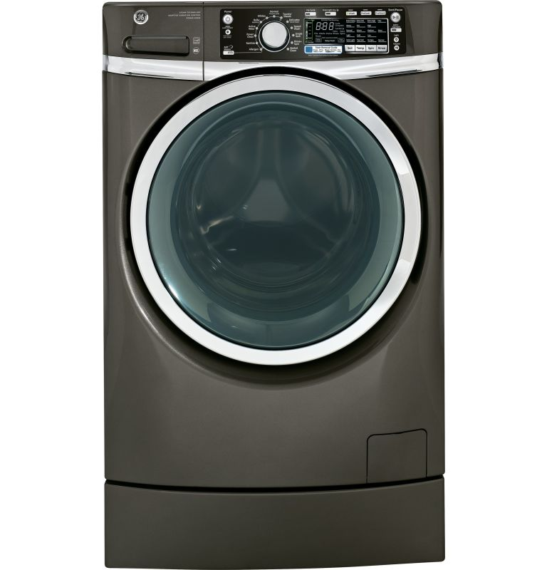 GE GFWR480 4.8 Cu. Ft. RightHeight Design Front Load Washer with Steam Technolog photo