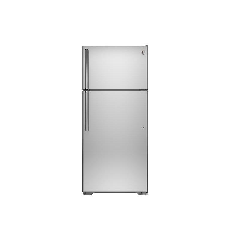 GE GIE16DGH 28 Inch 15.5 Cu. Ft. Top Freezer Refrigerator with Upfront Temperatu photo
