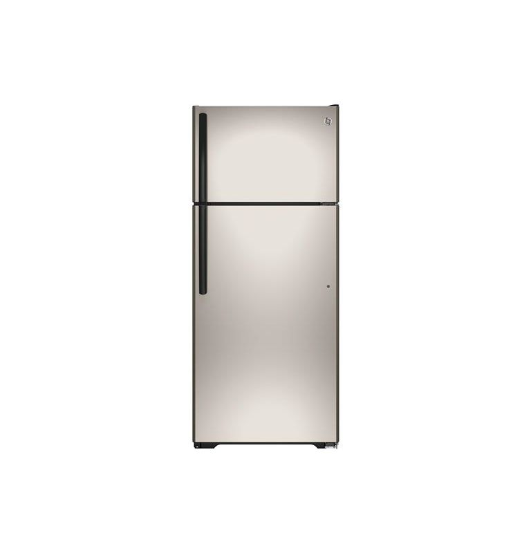GE GIE18G 28 Inch 17.5 Cu. Ft. Top Freezer Refrigerator with Adjustable Spillpro photo