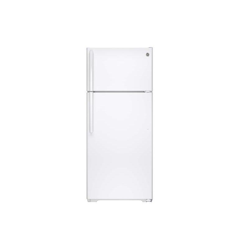 GE GIE18G 28 Inch 17.5 Cu. Ft. Top Freezer Refrigerator with Adjustable Spillpro photo