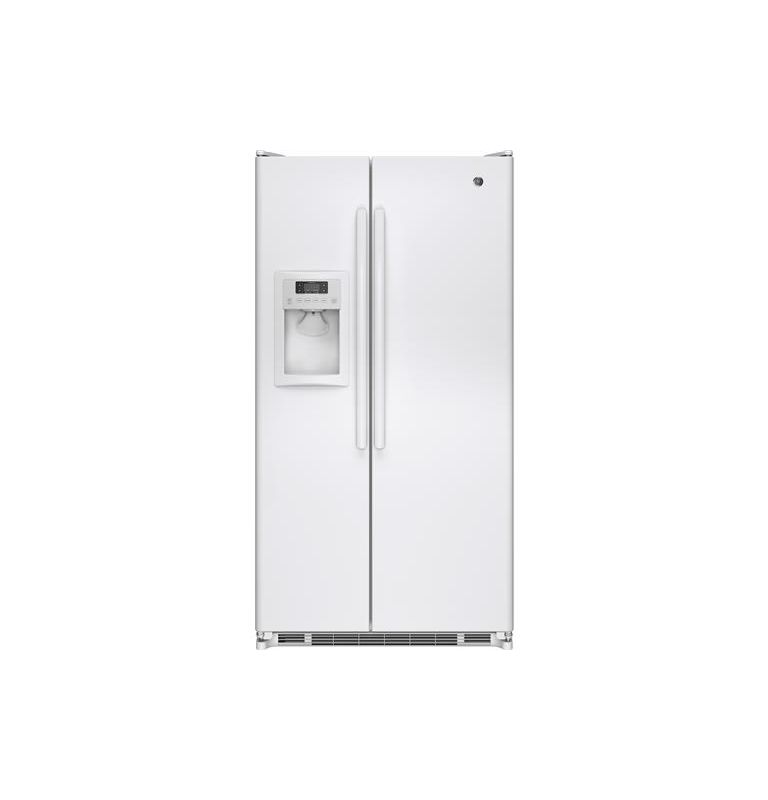 GE GSE25E 36 Inch 24.7 Cu. Ft. Side by Side Refrigerator with Adjustable-Tempera photo