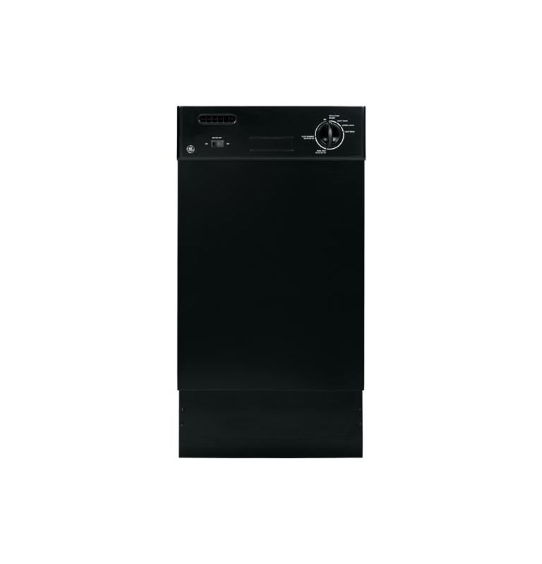 GE GSM1800F 18 Inch Spacemaker Built-In Dishwasher with Removable Upper Rack photo