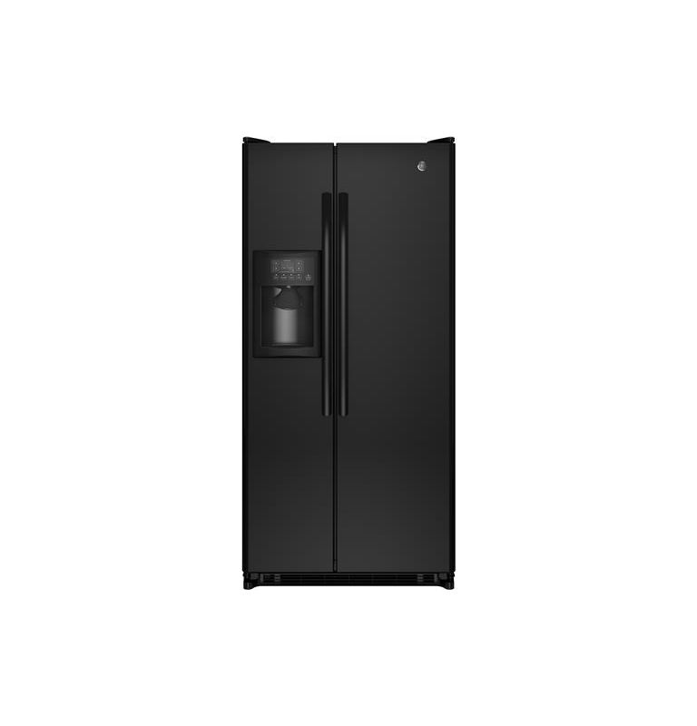 GE GSS20E 31-1/2 Inch 20.0 Cu. Ft. Side by Side Refrigerator with Adjustable Gla photo
