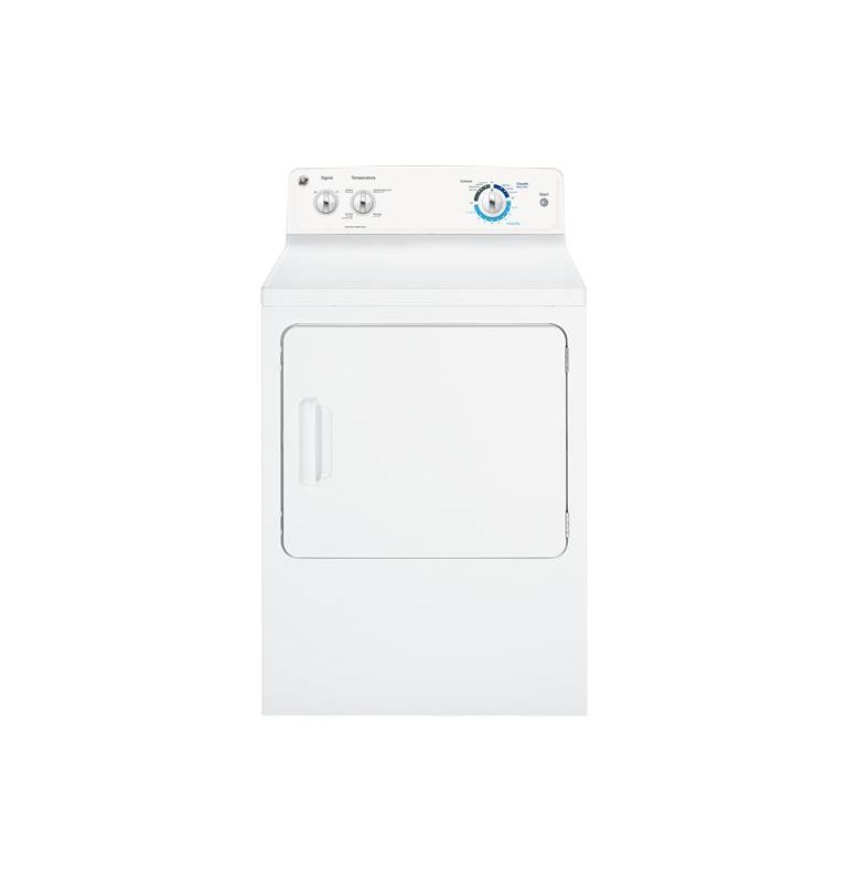 GE GTD18ES 27 Inch Wide 6.8 Cu. Ft. Electric Dryer with Dura Drum Interior photo