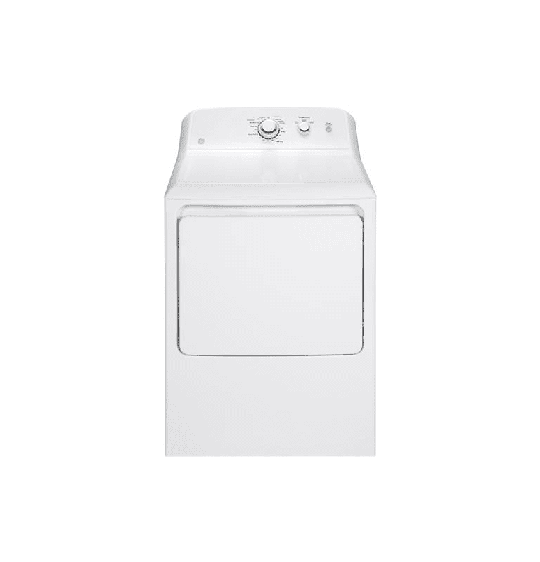 GE GTD33GAK 27 Inch Wide 7.2 Cu. Ft. Gas Dryer with Aluminized Alloy Drum photo