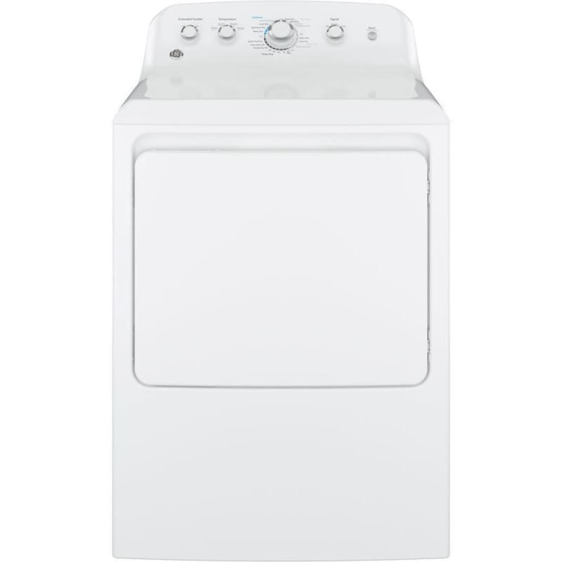 GE GTD42EA 27 Inch Wide 7.2 Cu. Ft. Electric Dryer with Aluminized Alloy Drum photo