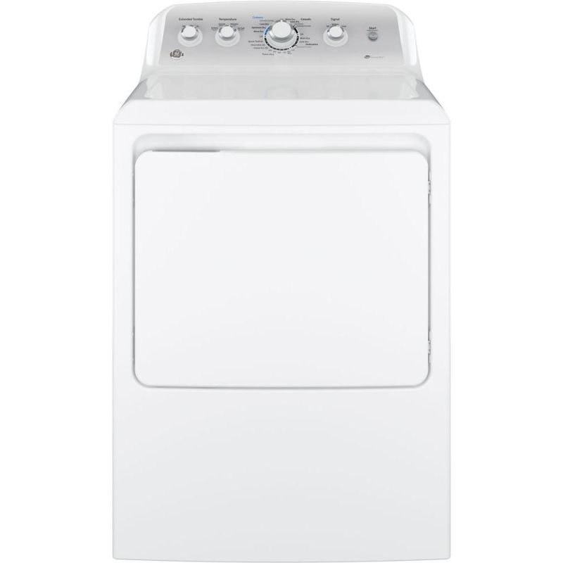 GE GTD45EASJ 7.2 Cu. Ft. Front Loading Electric Dryer with HE Sensor Dry™ photo