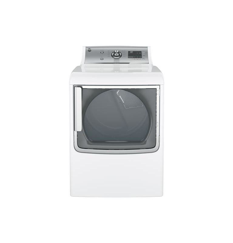 GE GTD81GS 28 Inch Wide 7.8 Cu. Ft. Energy Star Rated Gas Dryer with Clean Speak photo